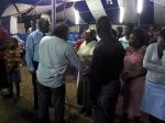 Ministering through prayer